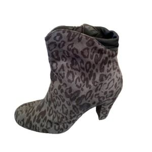 3/$25 🔥 Booties Women's Leopard Ankle Boots